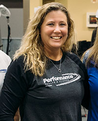 Becky Klutts, Performance Health & Fitness Group Fitness Director
