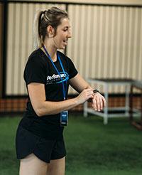 Kelsey McCrea, Personal Trainer
