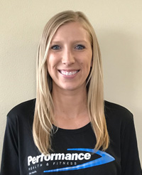 Jenny Vens, Personal Trainer at Performance Health & Fitness