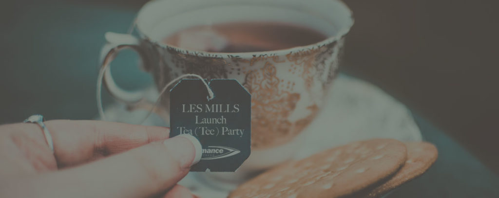 Les Mills Launch Tee Party May 2019