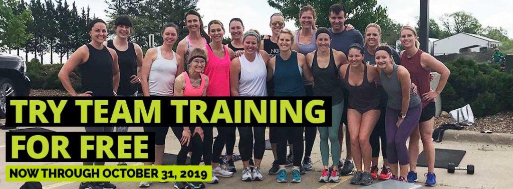 TEAM Training FREE WEEK TRIAL