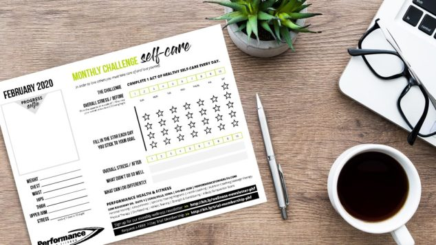 Monthly Wellness Challenge | Self-Care