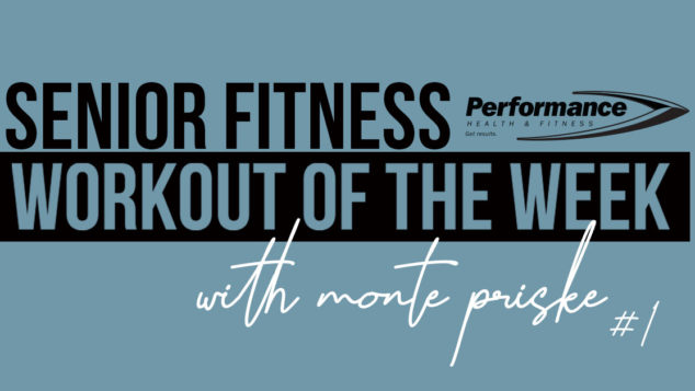 Senior Fitness Workout of the Week #01