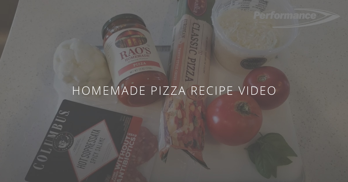 Healthy Summer Recipe Video Series | Homemade Pizza
