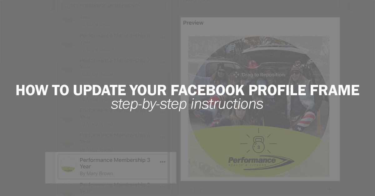 12th Anniversary Celebration   How to Update your Facebook Profile Frame