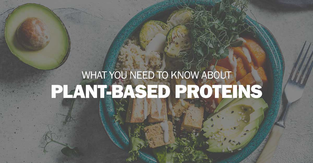 What You Need to Know About Plant-Based Proteins