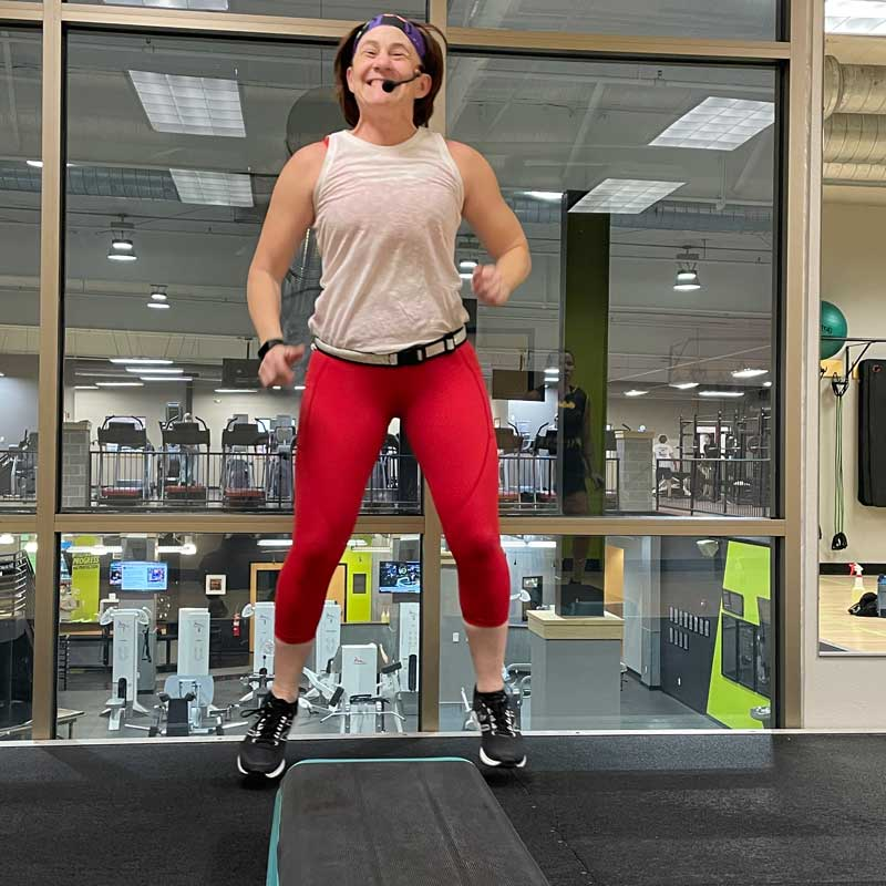 Julie Pady, Group Fitness Instructor