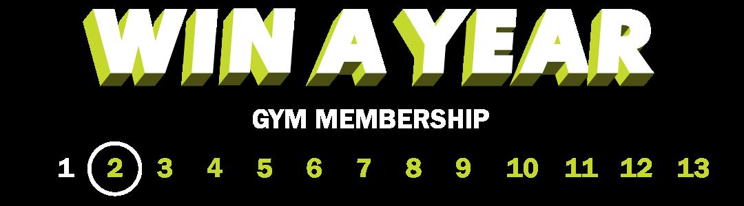 Win a FREE 1-Year Gym Membership (#2 of #13))