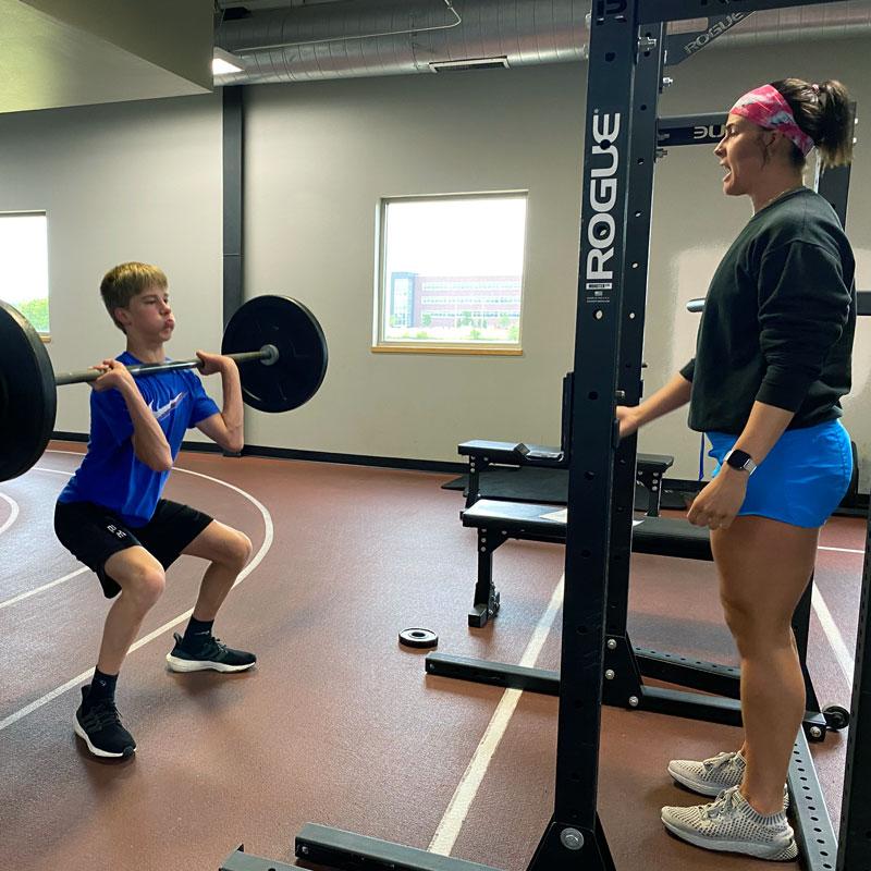 Anna Hoyman, Strength Coach