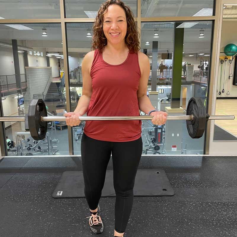 Christina Hamarstrom, Group Fitness Instructor